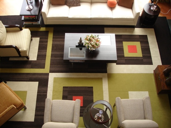 Square patterned Carpets