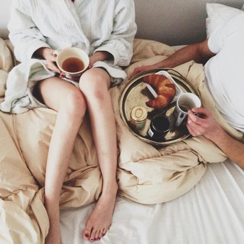 Hate cleaning, but love breakfast in bed