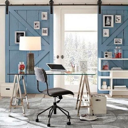 Awesome Blue Working Area