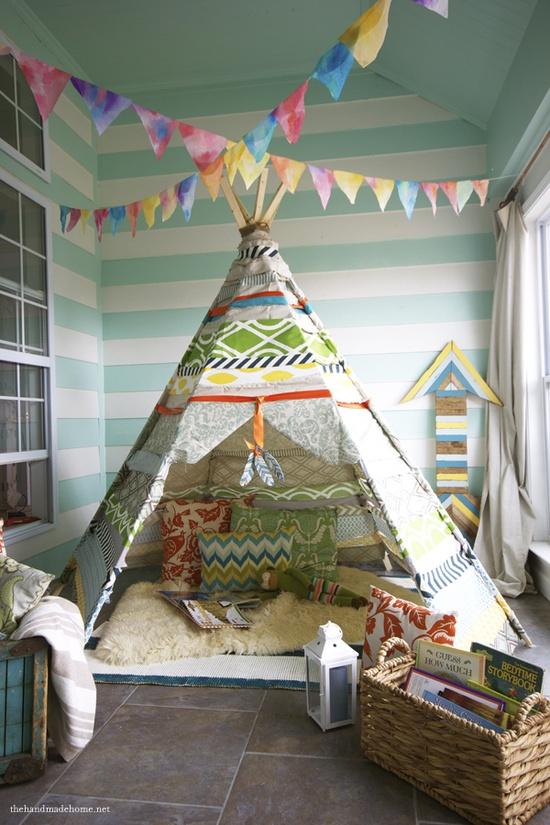 Kid's room tent