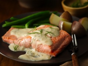 Salmon Garlic Dill