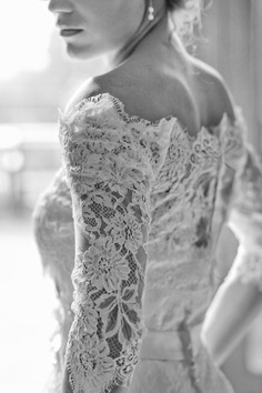 Beautiful Lace Bridal Gown