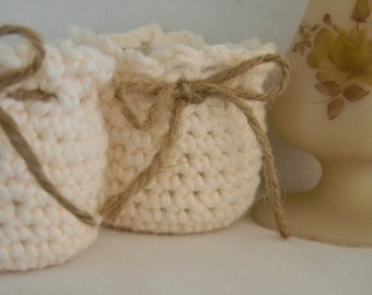 knitted candle holder cosies