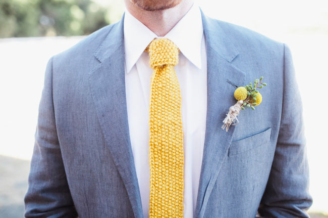 Knitted Wedding Tie For Groom