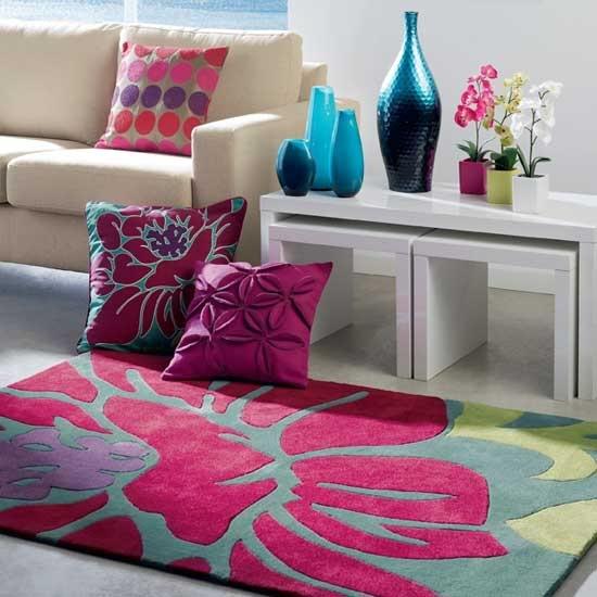 warm area rug