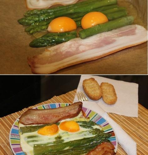 healthy Asparagus Breakfast