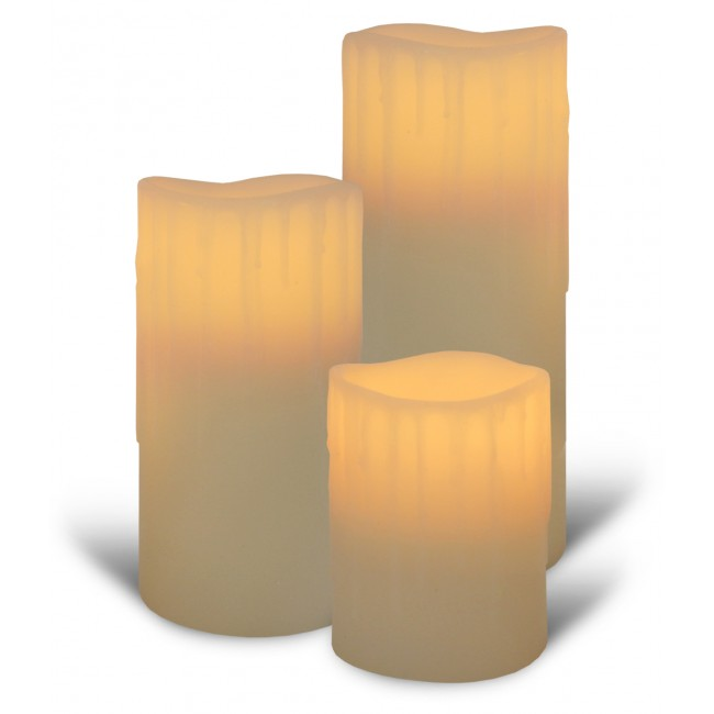 Create ambiance at home with the help of flameless candles