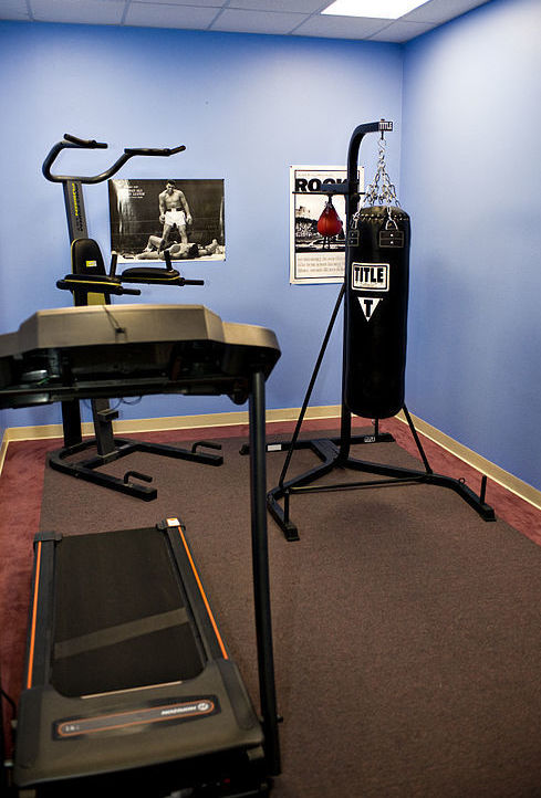 at-home gym