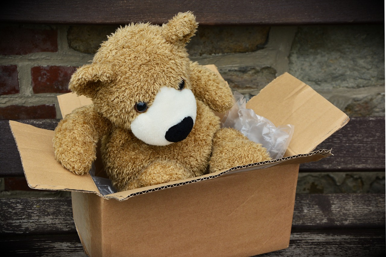 package-teddy-bear